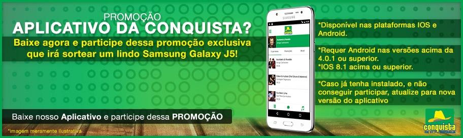 Promoção Samsung Galaxy J5