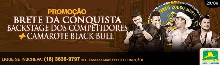 BRETE DA CONQUISTA - SÁBADO 29/04/2017 - HENRIQUE E JULIANO / BRUNO E BARRRETTO