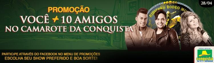 VOCÊ + 10 AMIGOS - SEXTA FEIRA 28/04/2017 - MARÍLIA MENDONÇA / KLEO DIBHAH E RAFAEL