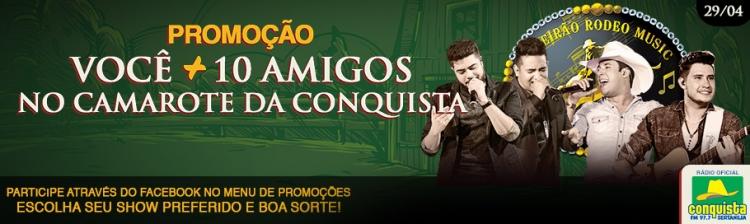 VOCÊ + 10 AMIGOS - SÁBADO 29/04/2017 - HENRIQUE E JULIANO / BRUNO E BARRETTO