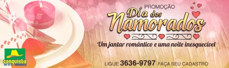 Promoção Dia dos Namorados - Jantar Romântico